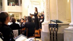 Bachs Johannespassion in der Leipziger Nikolaikirche, am Ort der Uraufführung